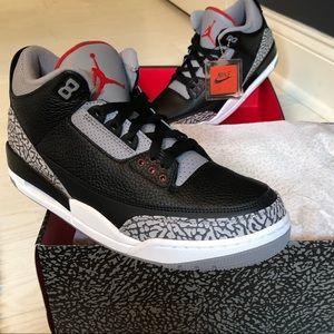 Air Jordan 3 Black Cement NEW ⭐️